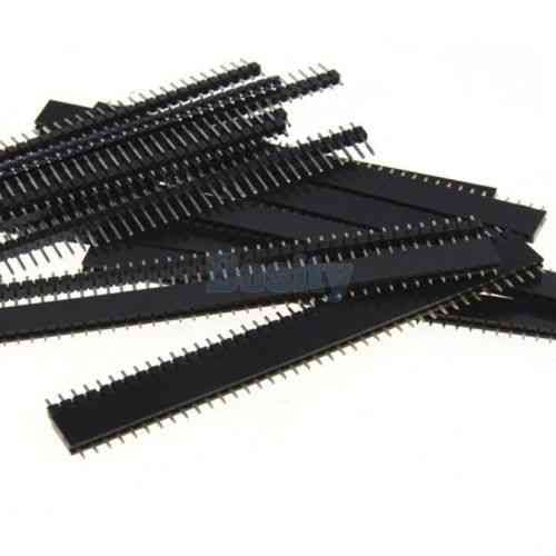 Male & Female 40 Pin Header Strip