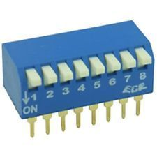 PCB Mounted Piano key DIL / DIP Switch