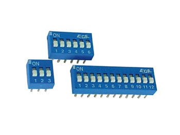 DIP SWITCH 4 POSITIONS