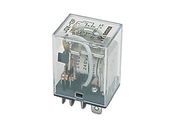 HEAVY-DUTY RELAY 10A/24VDC-220VAC 2 INV