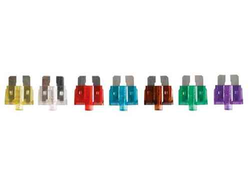 10-PIECE CAR FUSE SET WITH INDICATOR LIGHT