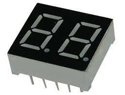 2 digit Red Led display 7 segment