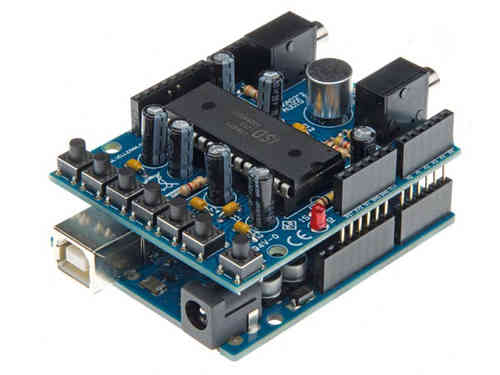 AUDIO SHIELD FOR ARDUINO®