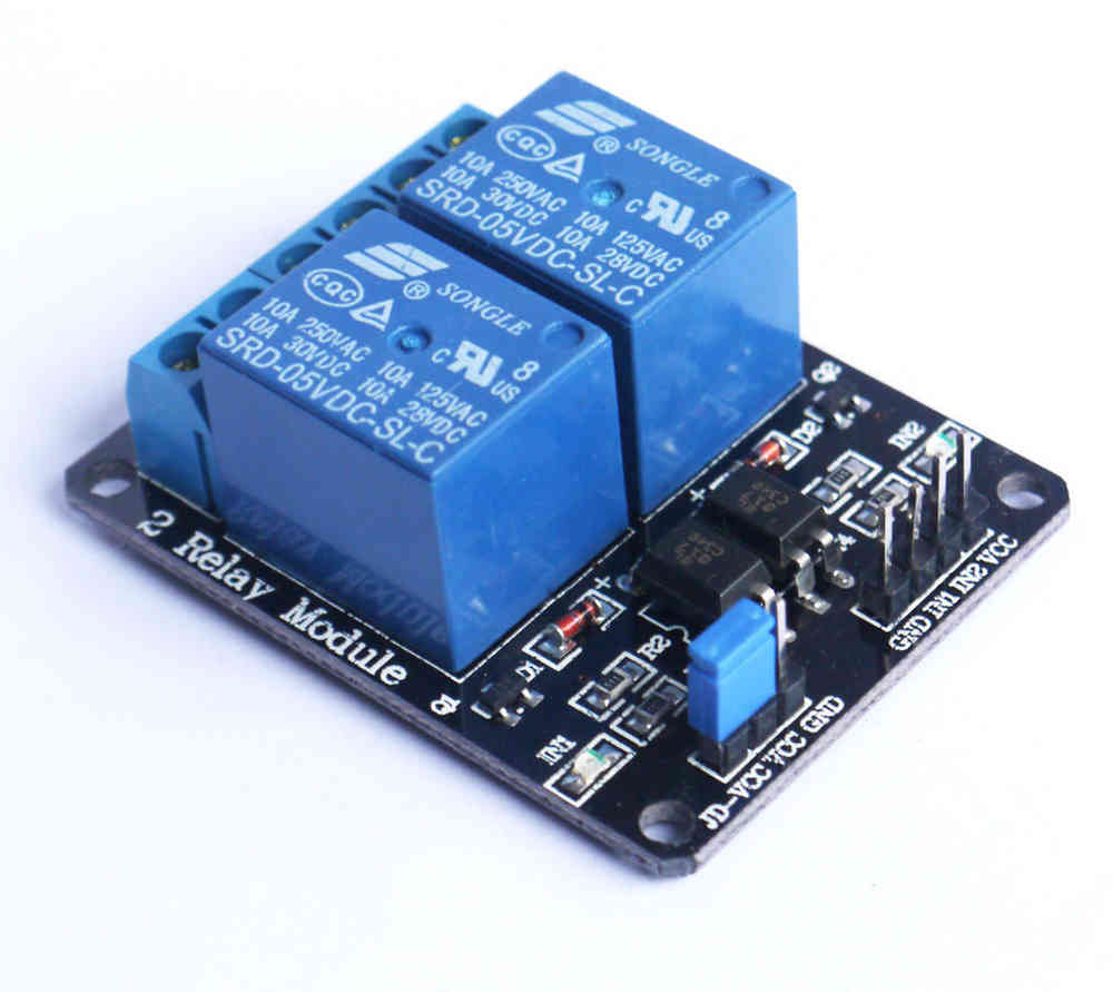 2 Channel 5v Relay Module With Optocoupler Irish Electronicsie Electronic Circuit Using