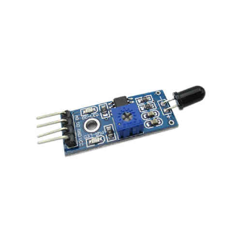 IR Infrared 4 Wire Flame Detection Sensor