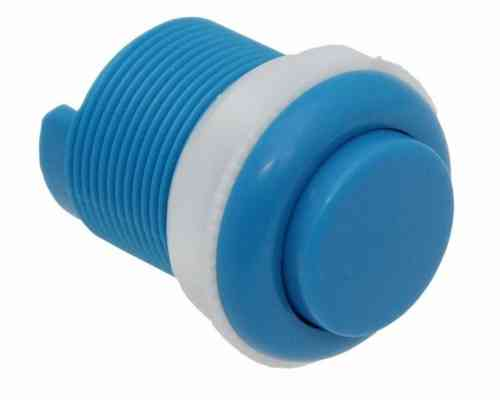 Arcade Push Button 33mm, Blue