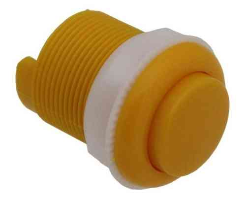 Arcade Push Button 33mm, Yellow