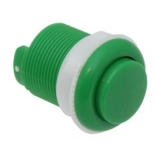 Arcade Push Button 33mm, Green