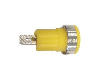 IEC1010 BINDING POST, FASTON - YELLOW