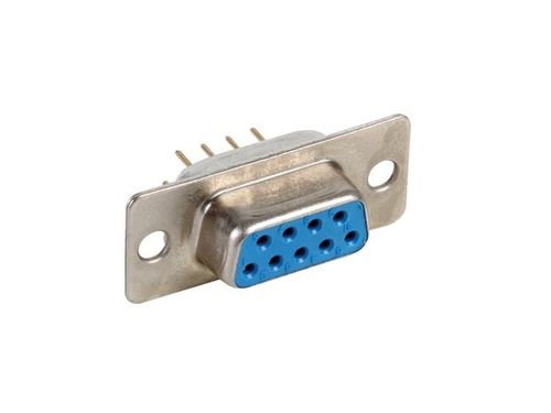 FEMALE 9-PIN SUB-D CONNECTOR - PCB