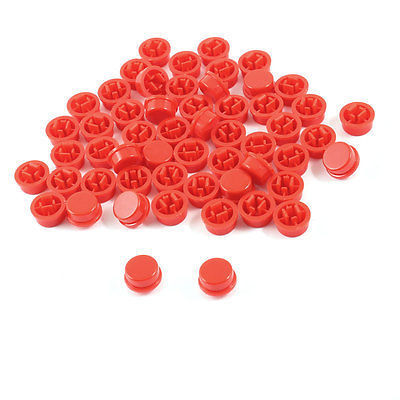 Red Button  12x12x7.3mm Tactile Switches