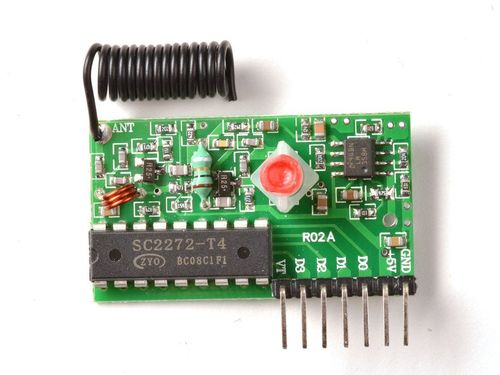 Simple RF L4 Receiver - 315MHz Latching