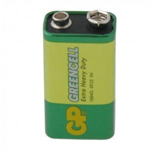 Zinc Chloride PP3 Battery