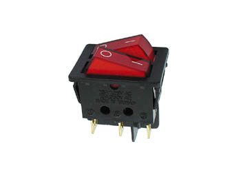 POWER ROCKER SWITCH 10A-250V