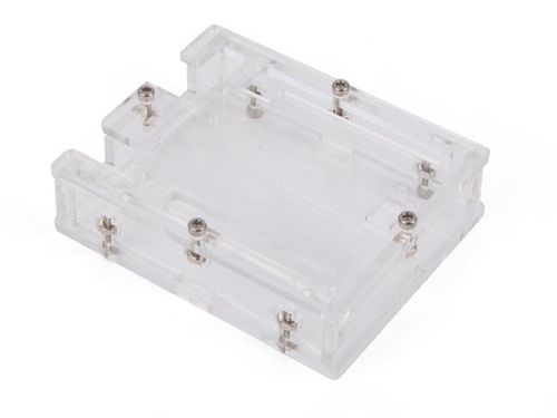 TRANSPARENT CASE FOR ARDUINO® UNO R3