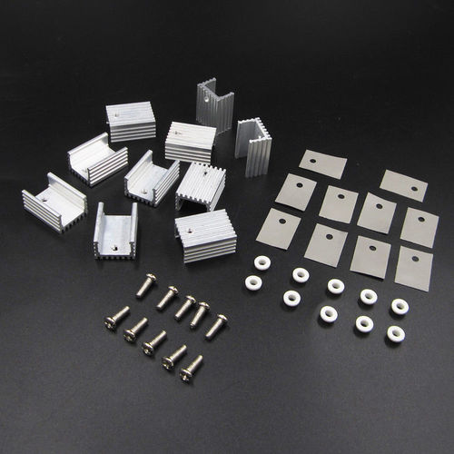 TO-220 Silver Heatsink Heat 20x15x11mm