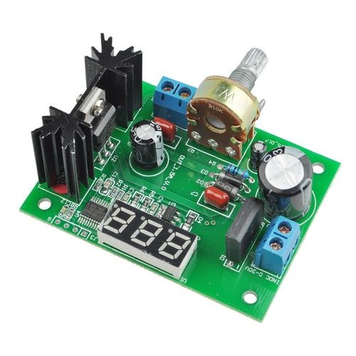 LM317 Adjustable Voltage Regulator