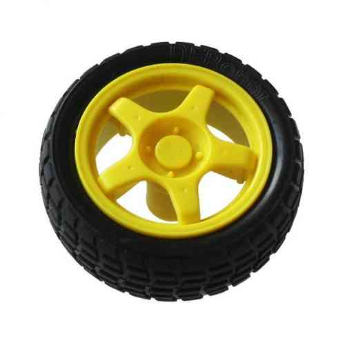 Wheel for Geared Hobby Motor