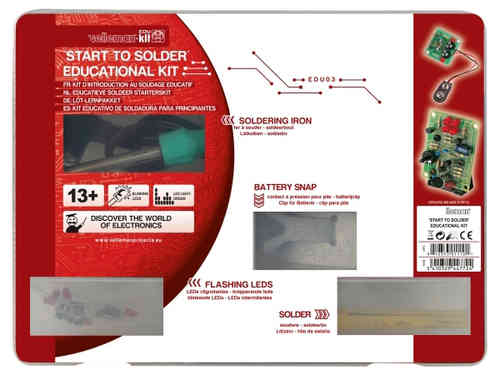 START TO SOLDER' EDUCATIONAL KIT