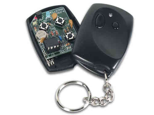 2-CHANNEL RF CODE-LOCK REMOTE TRANSMITTER