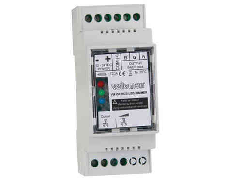 RGB LED DIMMER FOR DIN RAIL
