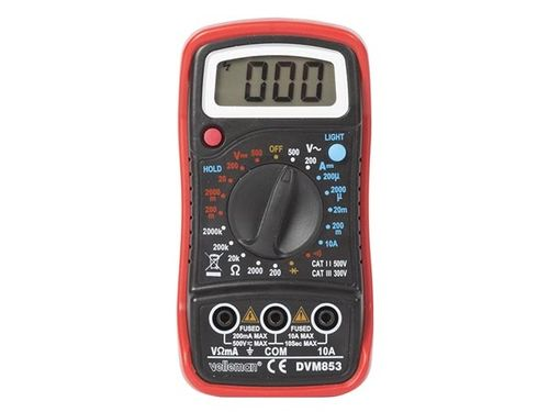 HOLD FUNCTION / BACKLIGHT Multimeter