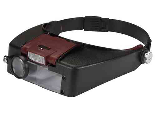 HEADBAND MAGNIFIER with LEDLIGHT