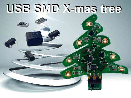 USB SMD X-MAS TREE