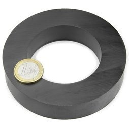 Black Disc Ferrite Magnet