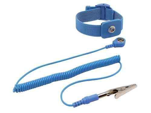 ANTISTATIC ADJUSTABLE ELASTIC WRIST STRAP