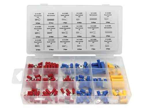 TERMINAL & CONNECTOR ASSORTMENT - 150 pcs