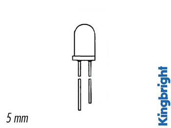 5mm PHOTOTRANSISTOR WATER-CLEAR 940nm