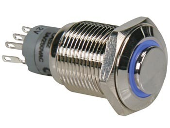 HIGH ROUND METAL SWITCH SPDT