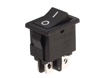 POWER ROCKER SWITCH 3A-250V DPST