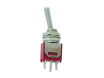 VERTICAL SUBMINIATURE TOGGLE SWITCH