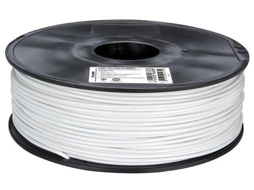 "3 mm (1/8"") PLA FILAMENT - WHITE"
