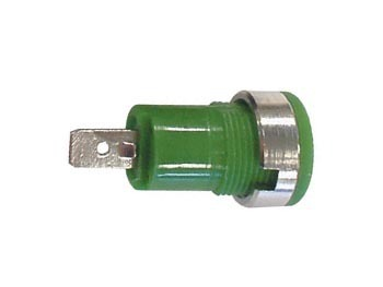 IEC1010 BINDING POST, FASTON - GREEN