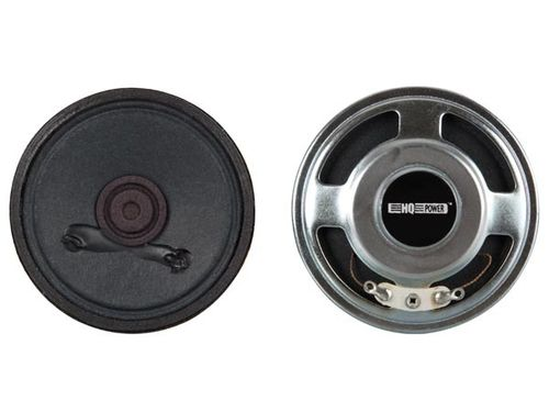 MINI LOUDSPEAKER - 2W / 8 ohm - Ø 101mm