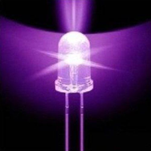 F5 5mm Round Ultra Violet LED UV Light