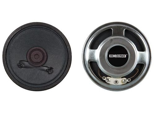 MINI LOUDSPEAKER - 1W / 8 ohm - Ø 77mm