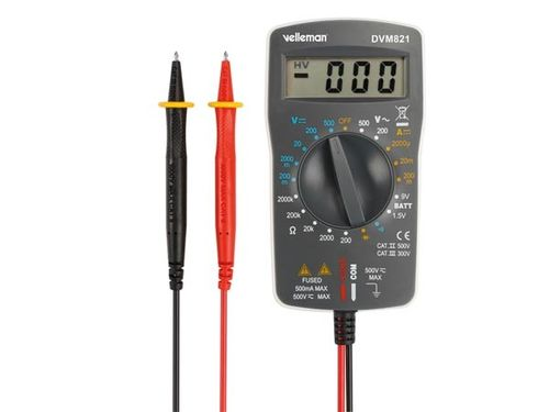 DIGITAL MULTIMETER CATII 500V CATIII 300V