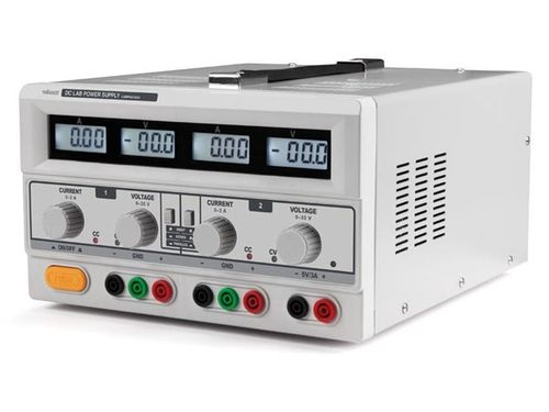 DUAL DC LAB POWER SUPPLY 2x 0-30 VDC  0-3A