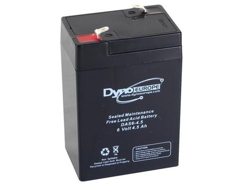 LEAD ACID BATTERY 6V-4.5Ah 70x48x106mm