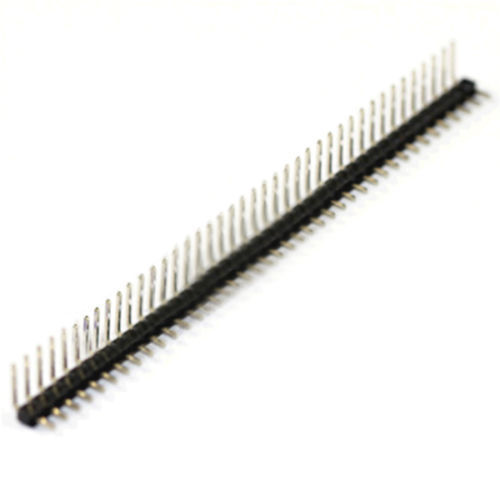 2.54mm Pitch Single Row Male 90 Degree