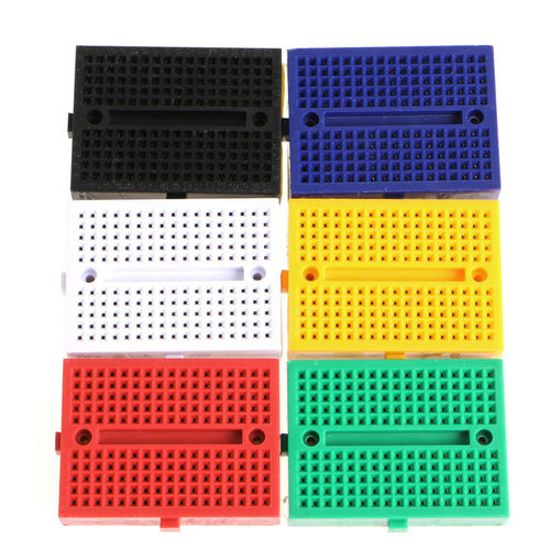SYB-170 Mini Solderless Breadboard Yellow