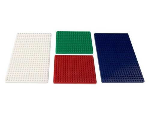 SET OF PLATES FOR MINI BREADBOARDS - 4 pcs