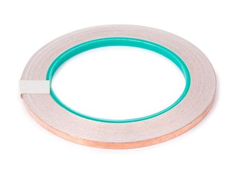 COPPER FOIL ADHESIVE TAPE - 5 mm x 25 m