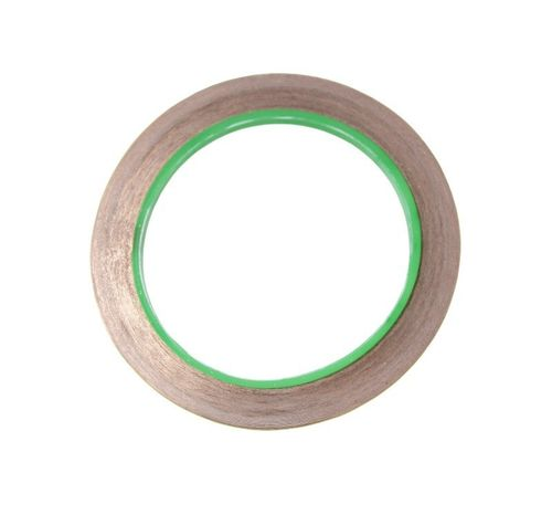 Copper Tape + Conductive Adhesive, 5mm 15m