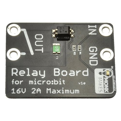 Low voltage relay for micro:bit (S state)