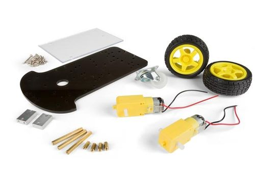 2 WHEEL DRIVE MOTOR CHASSIS ROBOTICS KIT